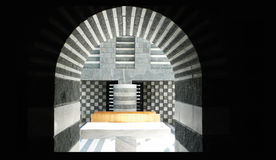 Mario Botta, altar da igreja imagem de stock royalty free