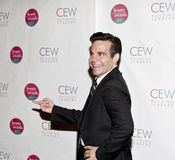 Mario Cantone. NEW YORK, NY - MAY 20: Actor Mario Cantone attends the 2011 Cosmetic Executive Women Beauty Awards at The Waldorf-Astoria Hotel on May 20, 2011 in royalty free stock images