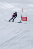Mario Carvalho during the Ski National Championships Royalty Free Stock Photo