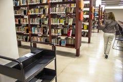 Mario de Andrade-öffentliche Bibliothek stockfotos