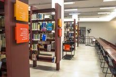 Mario de Andrade-öffentliche Bibliothek lizenzfreies stockfoto