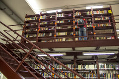 Mario de Andrade public library Royalty Free Stock Photography