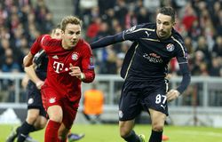 Mario Götze  Bayern Munich Royalty Free Stock Photography