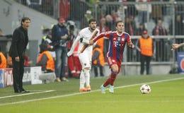 Mario Götze Bayern Munich v AS Rome Champion League Royalty Free Stock Photo