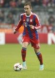 Mario Götze Bayern Munich v AS Rome Champion League Stock Image