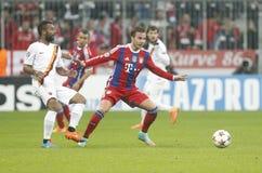 Mario Götze Bayern Munich v AS Rome Champion League Royalty Free Stock Photography
