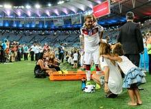 Mario Götze  Coupe du monde 2014 Royalty Free Stock Photography