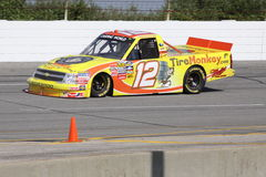 Mario Gosselin 12 Qualifying NASCAR Truck Series Stock Images