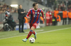 MARIO GOTZE  BAYERN MUNICH Stock Photos