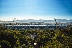 Mario Kempes Stadium - Soccer stadium in Cordoba Argentina stock photo