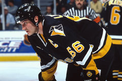 Mario Lemieux, Pittsburgh Penguins Στοκ Φωτογραφία