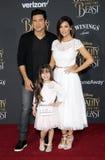 Mario Lopez and Courtney Laine Mazza Royalty Free Stock Image