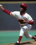 Mario Soto. Cincinnati Reds P Mario Soto. (Image taken from color slide Royalty Free Stock Image