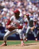Mario Soto. Cincinnati Reds pitcher Mario Soto. (Image taken from color slide Stock Photo