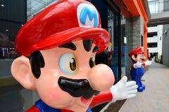 Mario statue Stock Image