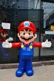 Mario statue Stock Images