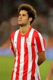 Mario Suárez de Atletico Madrid foto de archivo