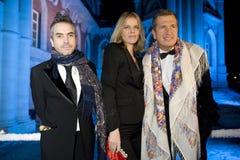 Mario Testino et Eva Herzigova Photographie stock libre de droits