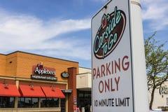 Marion - τον Απρίλιο του 2017 Circa: Σχάρα γειτονιάς Applebee ` s και περιστασιακό εστιατόριο φραγμών Το Applebee ` s είναι υποκα Στοκ Φωτογραφία