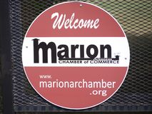 Marion Arkansas Chamber av komrets Arkivfoton