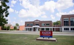 Marion Arkansas Elementary School arkivbilder