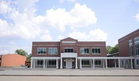 Marion Arkansas School Building Stock Foto