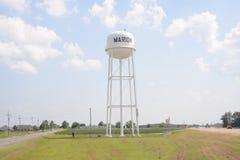 Marion Arkansas von Crittenden County Wasserturm lizenzfreie stockbilder