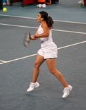 Marion Bartoli (FRA), professionele tennisspeler royalty-vrije stock afbeeldingen