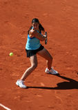 Marion Bartoli (FRA) in Roland Garros 2011 Stock Foto's