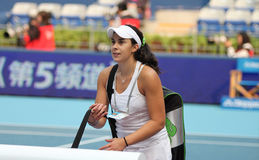 Marion Bartoli (France) at the China Open 2009 Royalty Free Stock Photography