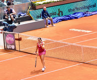 Marion Bartoli at Mutua Open Madrid Stock Photo