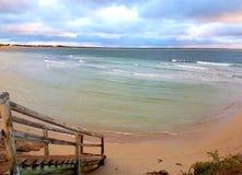Marion Bay Swimming Beach immagini stock
