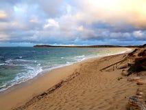 Marion Bay Swimming Beach fotografia stock