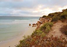 Marion Bay Swimming Beach immagine stock libera da diritti