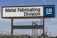 Marion - Circa April 2017: General Motors Metal Fabricating Division I Stock Photography