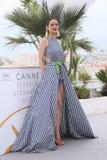 Marion Cotillard-Haltungen während des photocall Lizenzfreies Stockfoto