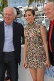 Marion Cotillard & Jean-Pierre Dardenne & Luc Dardenne Stock Photo