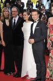 Marion Cotillard & Jeremy Renner & James Gray Stock Image