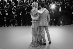 Marion Cotillard, Xavier Dolan. Marion Cotillard  attends the 'Macbeth' Premiere during the 68th annual Cannes Film Festival on May 23, 2015 in Cannes, France Royalty Free Stock Photos