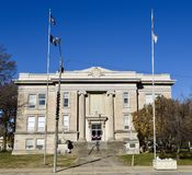 Marion County Courthouse Royalty-vrije Stock Afbeeldingen