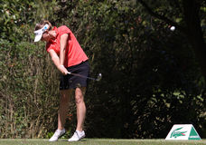 Marion Ricordeau at the Fourqueux golf Ladies Open Stock Images