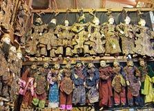 Marionet Myanmar Stock Afbeelding