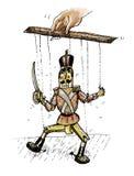 Marionet (vectorformaat) Royalty-vrije Stock Foto's