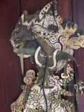 Marioneta única del Javanese Imágenes de archivo libres de regalías