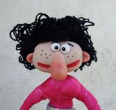 Marioneta adolescente Fotos de archivo libres de regalías