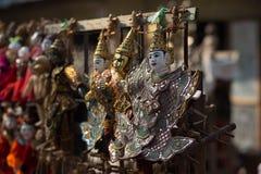 Marioneta anual de Myanmar Imagenes de archivo
