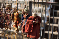 Marioneta anual de Myanmar Fotos de archivo libres de regalías