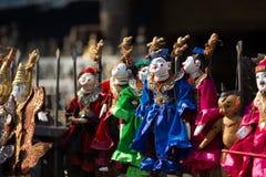 Marioneta anual de Myanmar Imágenes de archivo libres de regalías
