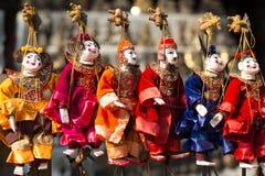 Marioneta anual de Myanmar Foto de archivo libre de regalías