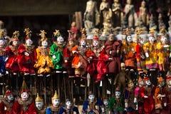 Marioneta anual de Myanmar Fotografía de archivo libre de regalías